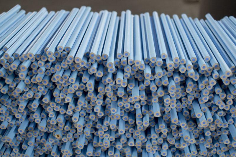 Stifteberge – frisch lackier! Auch hier riecht es sehr angenehm und gar nicht nach Farbe, Lack oder gar Lösungsmitteln.
