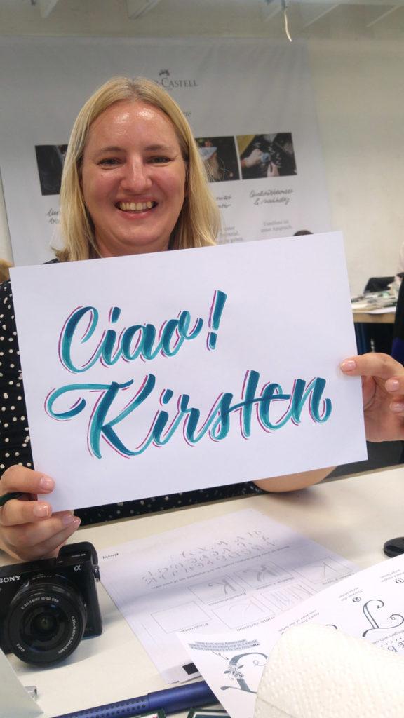 Kirsten, mindestens genauso glücklich!