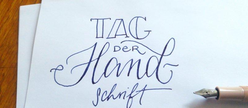 Der 23. Januar ist Tag der Handschrift.