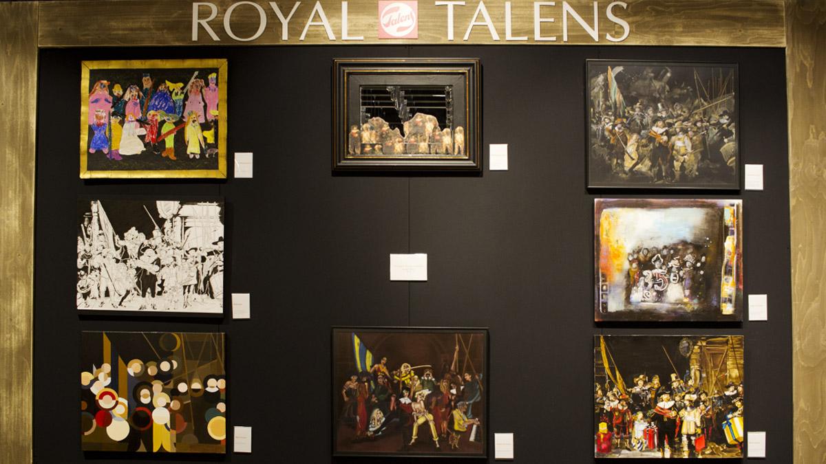 Year of Rembrandt - dies feiern Royal Talens und das Rijkmuseum mit verschiedenen Aktionen.