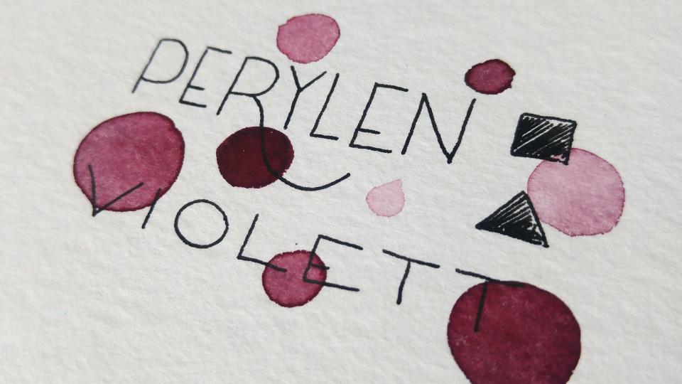 Perylen Violett von Schmincke Horadam.