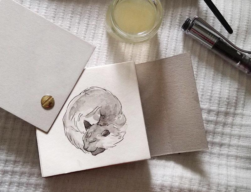 DIY – Sketchbook self made