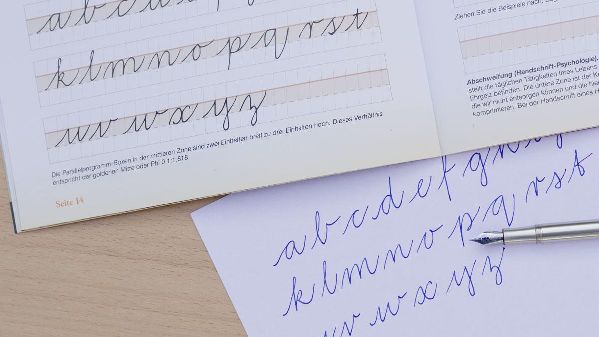 Schreibmeister - Penmanship - Leitfaden zur Handschrift - Workshop