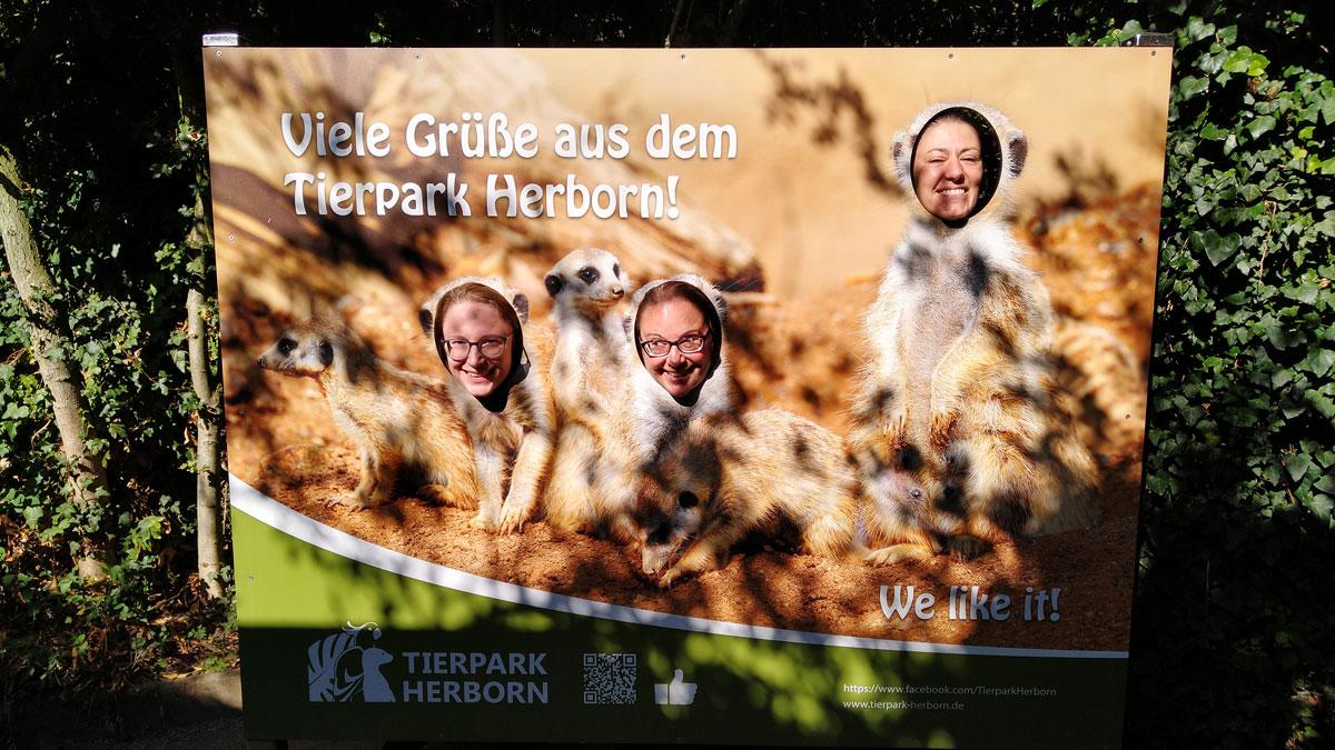 Viele Grüße aus dem Tierpark Herborn von den USk Mittelhessen!