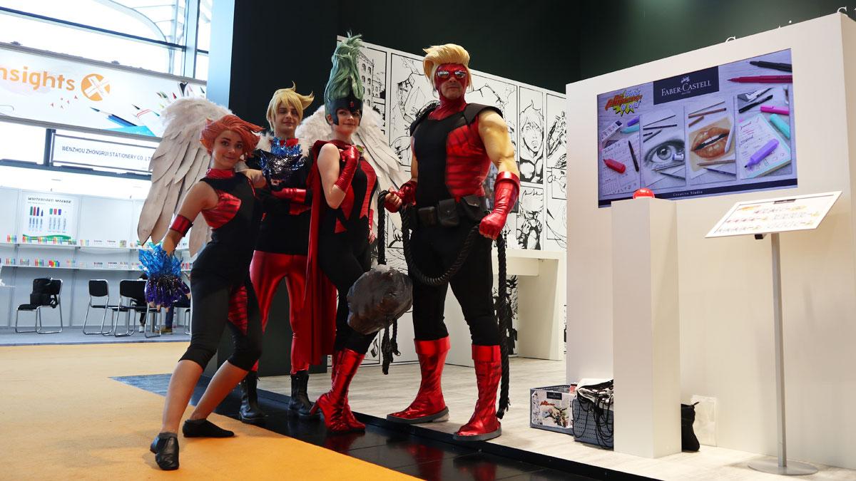 Die Famazings - Superhelden-Familie von Faber-Castell