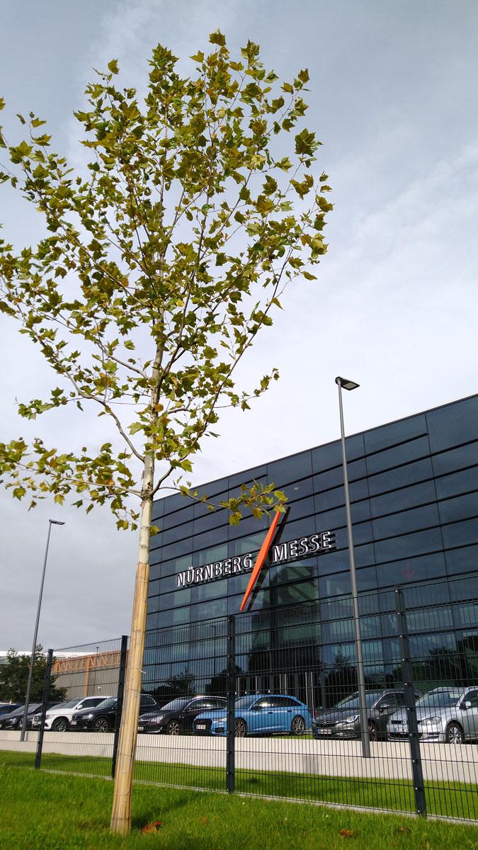 Die neue Halle 3C im Messezentrum Nürnberg.