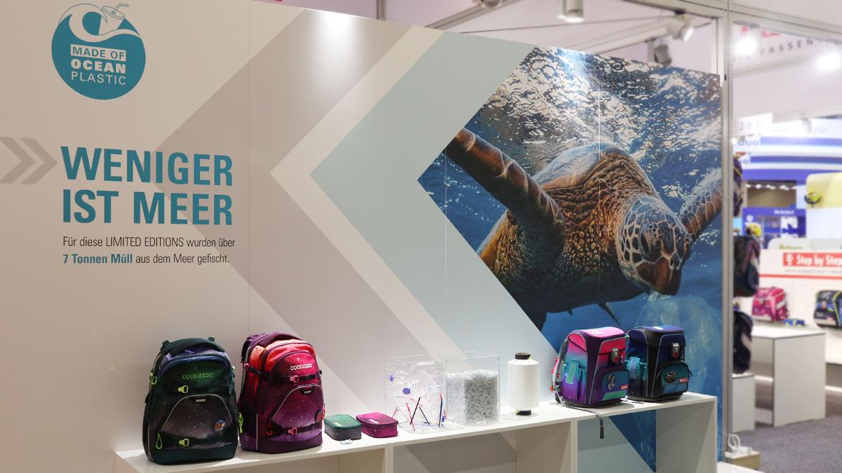 Weniger ist Meer - cocazoo Schultaschen aus Ocean Plastic