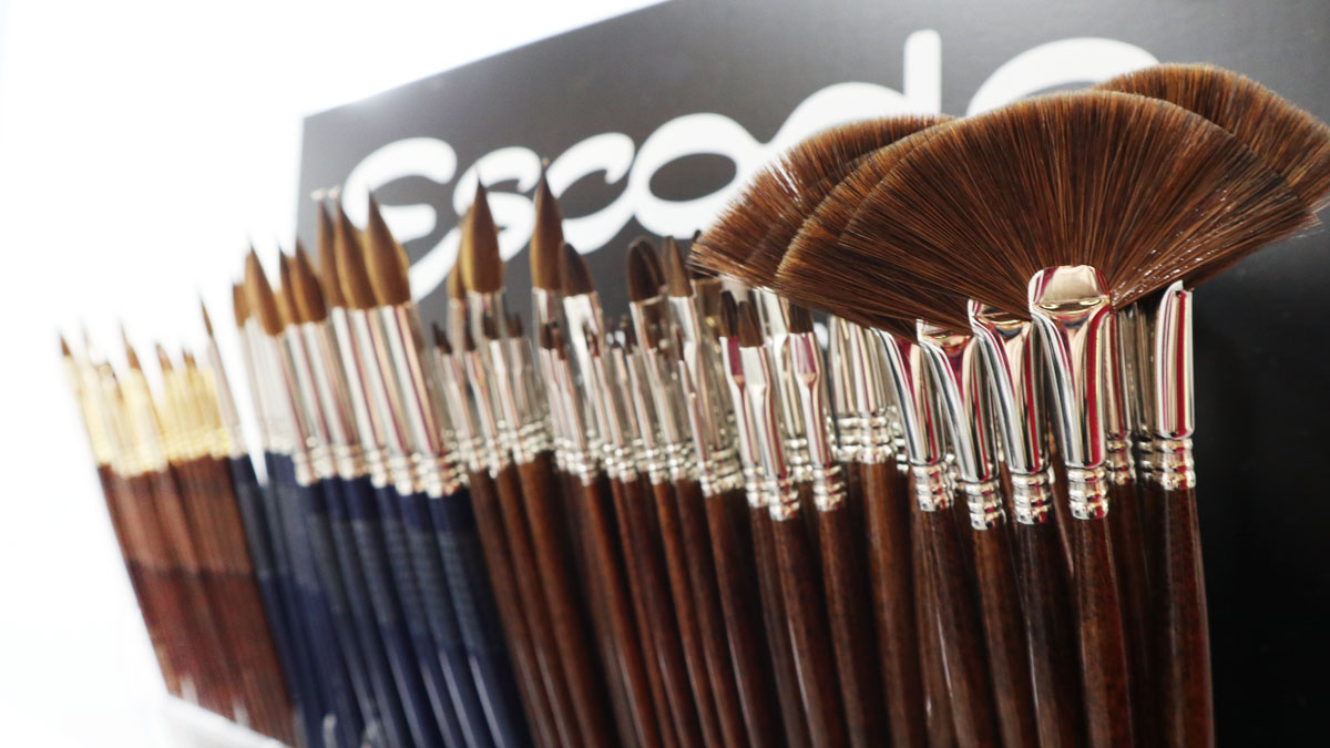 Escoda Brushes Creativeworld Sortiment