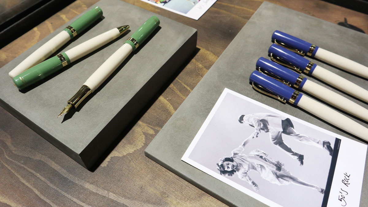 Kaweco Paperworld 2020 Student Swing and Rock