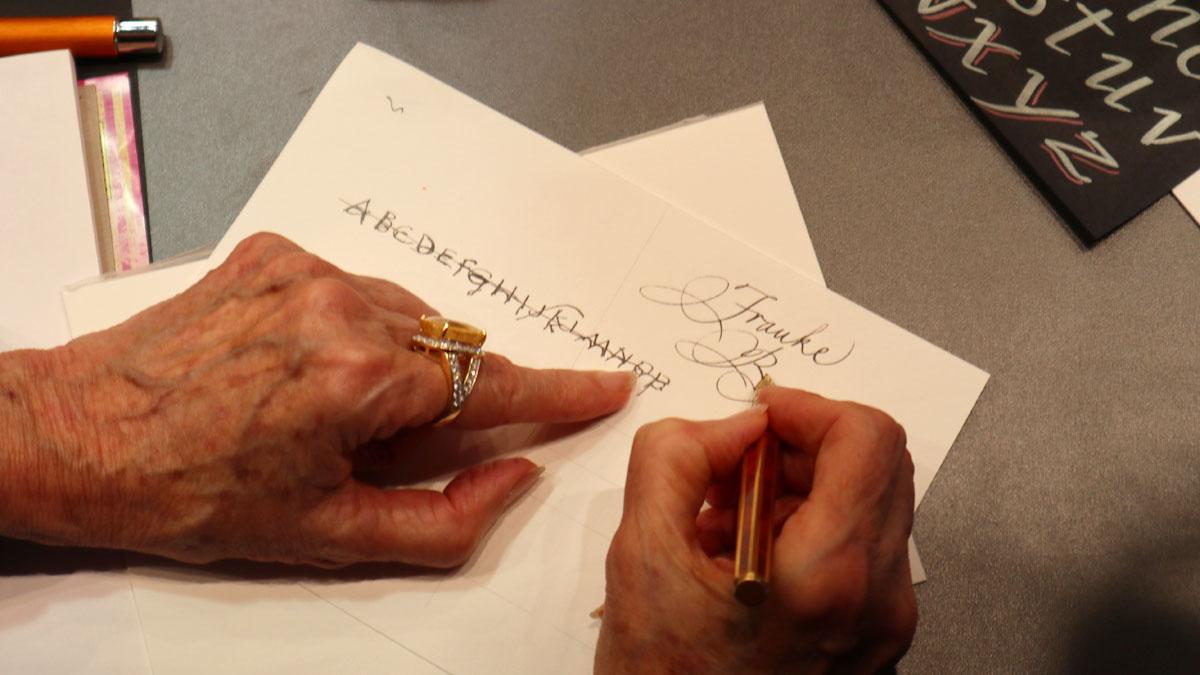 Online Pen Barbara Nichol Penmanship Handschrift Paperworld 2020
