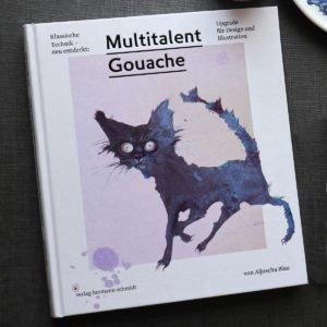 Multitalent Gouache von Aljoscha Blau