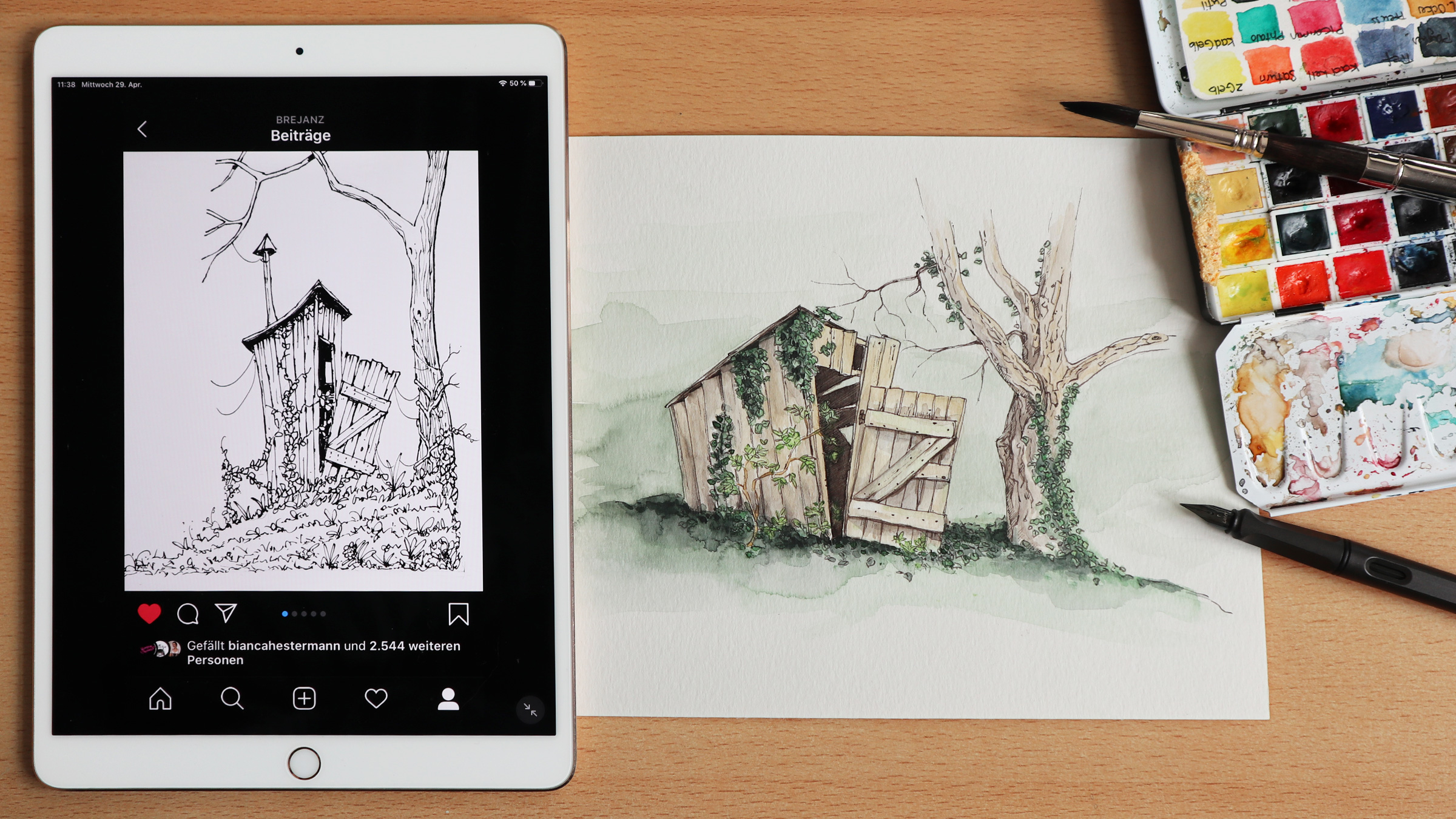Brejanz Tante Hildas Hütte Draw This In Your Style
