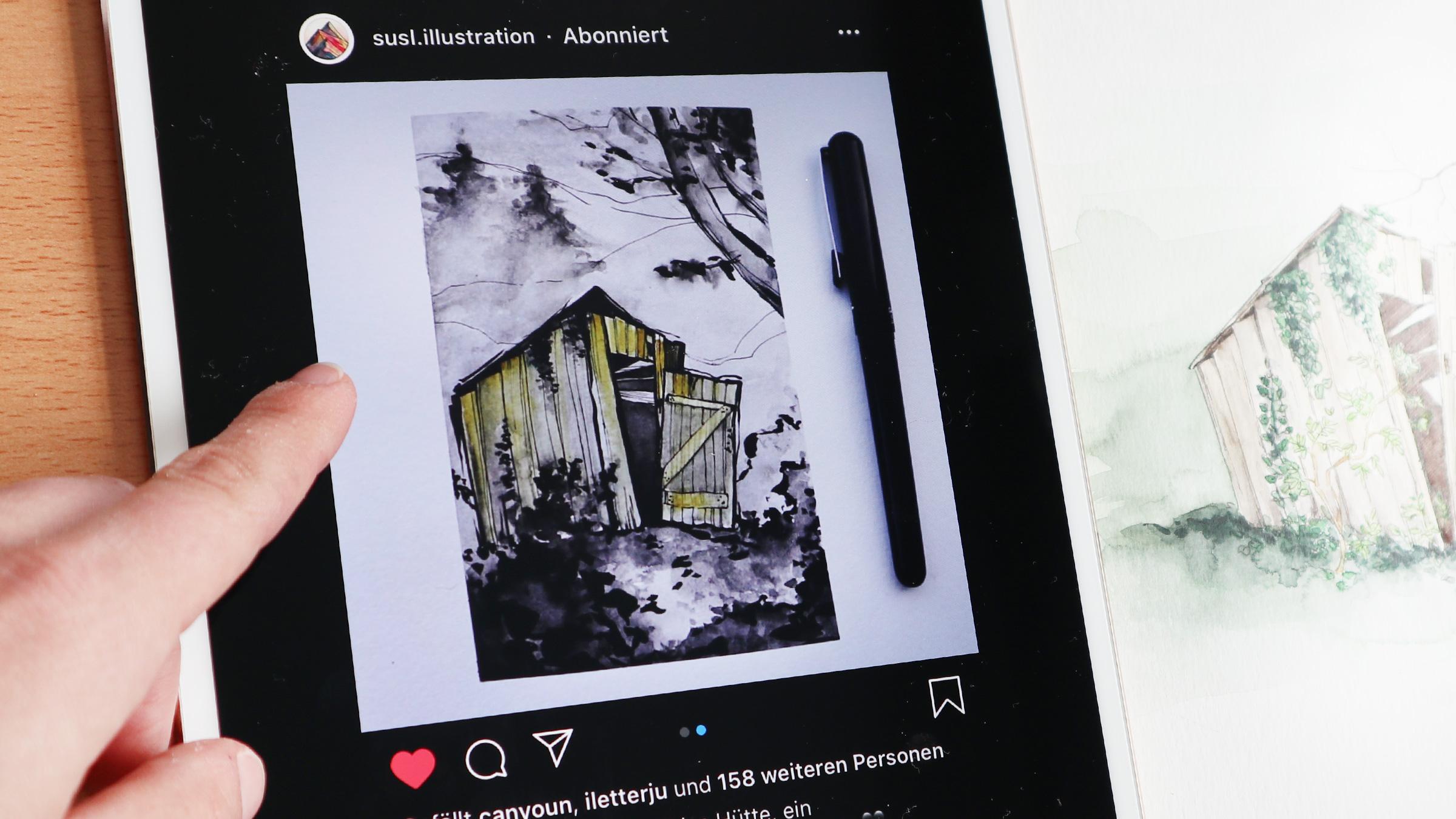 Draw This in Your Style TanteHildasHütte by Susl.Illustration