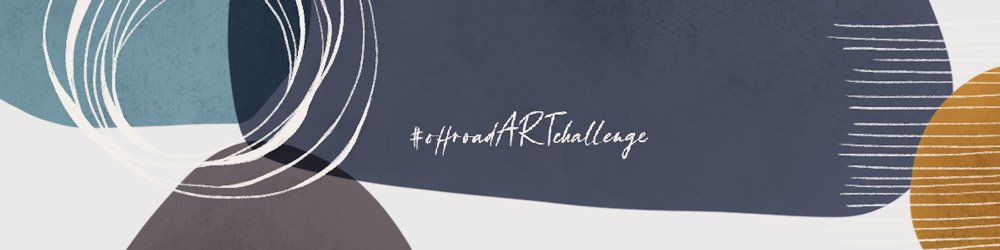 offroad ART challenge Monatsthemen für Kreativität und Kunst - Instagram Challenge