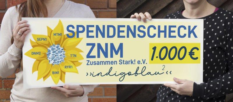Spende an den Verein ZNM - Zusammen Stark! e.V.