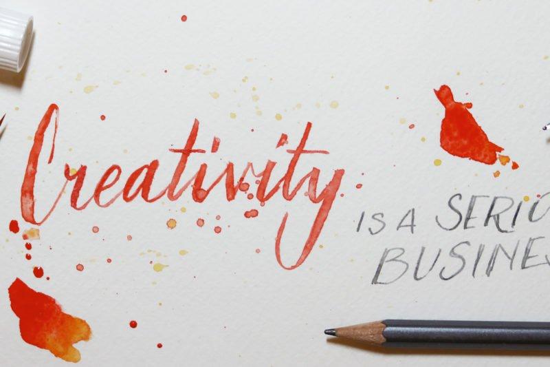 Creativity is a serious business. Leitthema der leider abgesagten Creativeworld und Paperworld 2021.
