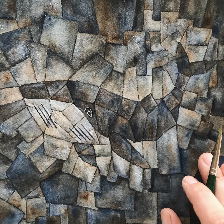offroadARTchallenge Kubismus als Stil umsetzen