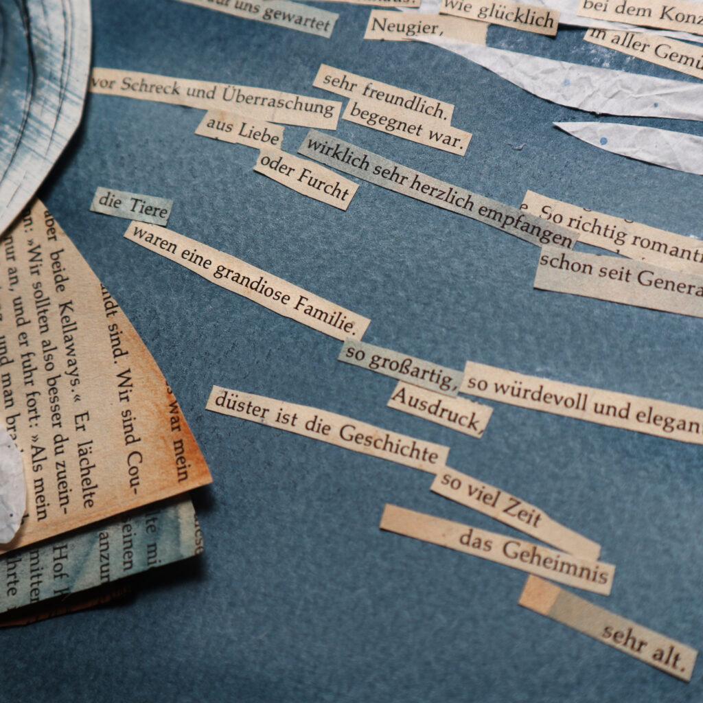 Worte neu arrangiert ergeben neue Bedeutungen.