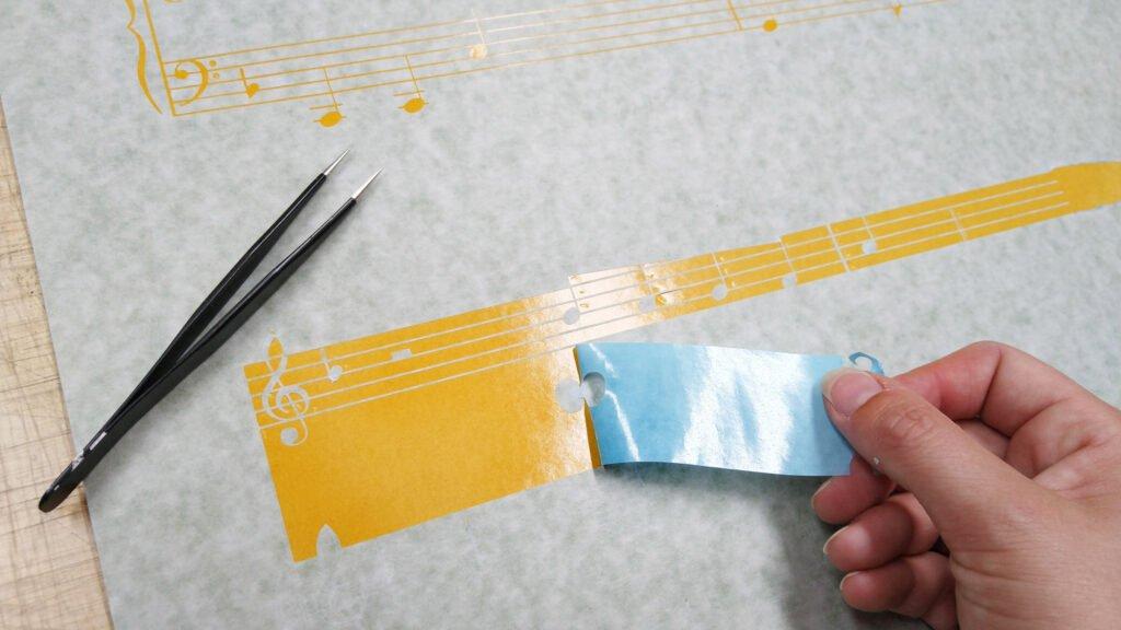 Plotten auf Schablonenpapier ReguSign