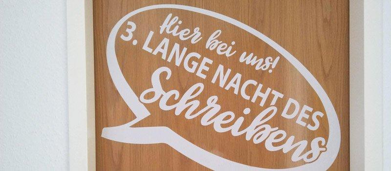 Die Lange Nacht des Schreibens 2021 bei MiaSkribo in Köln-Ehrenfeld.